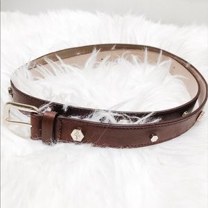 Cole Haan | Brown & Gold Belt